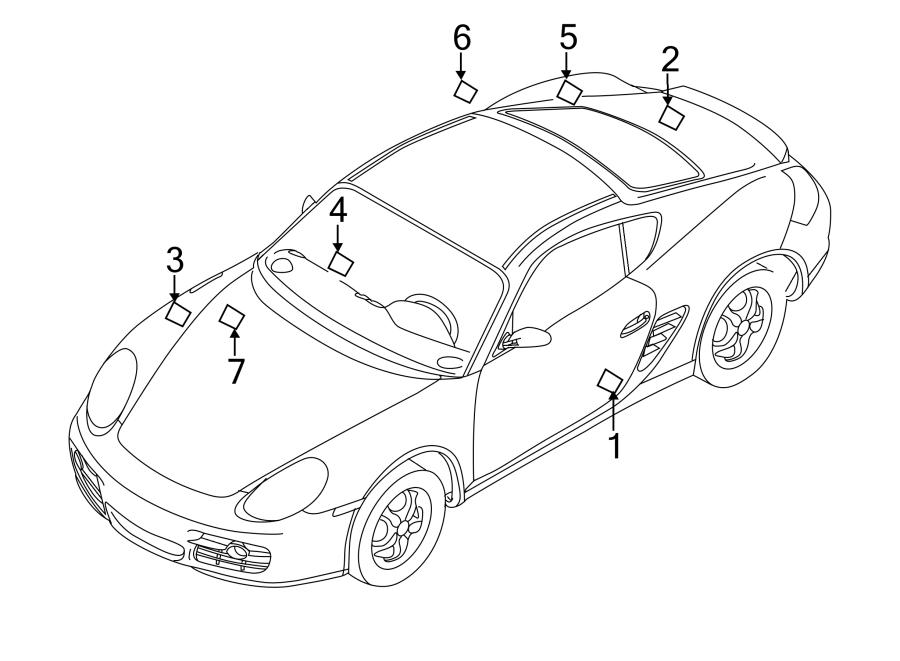 Porsche Cayman Tire Label  20 Wheels  Info  Susp  Adaptive