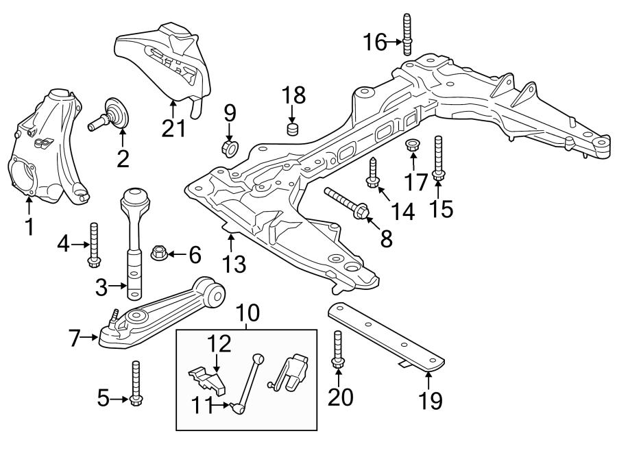 2013 porsche 911 suspension  subframe  crossmember