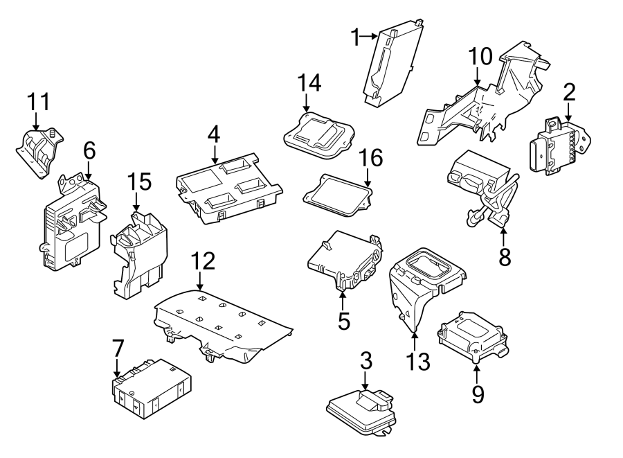 12590220 - Chevrolet Module. Transfer case shift control ...  |All Wheel Drive Transfer Case Diagram