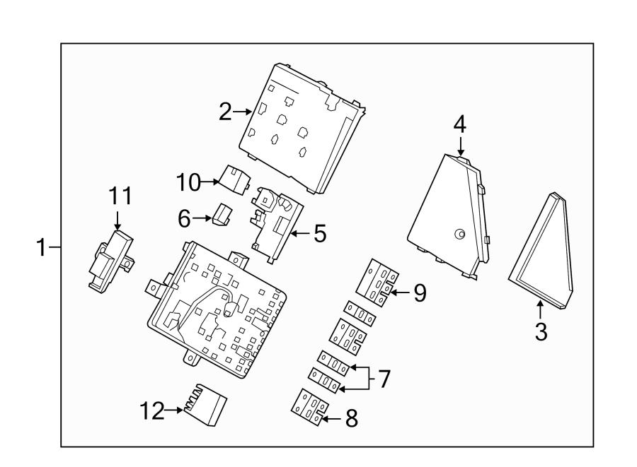 porsche boxster fuse and relay center 99161035100. Black Bedroom Furniture Sets. Home Design Ideas
