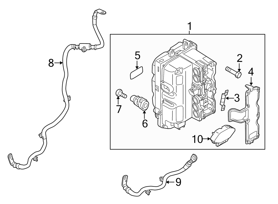 2015 Porsche Panamera Drive Motor Inverter. HYBRID ...