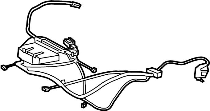 Porsche Cayman Power Seat Wiring Harness  Cushion  Right