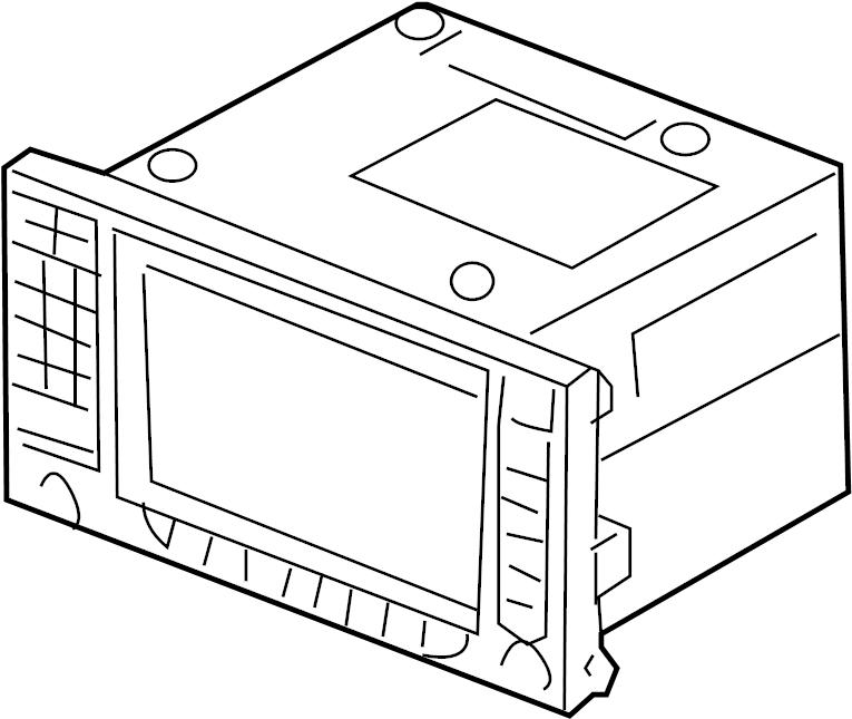 porsche cayenne gps navigation system  display unit  gps navigation system  nav control