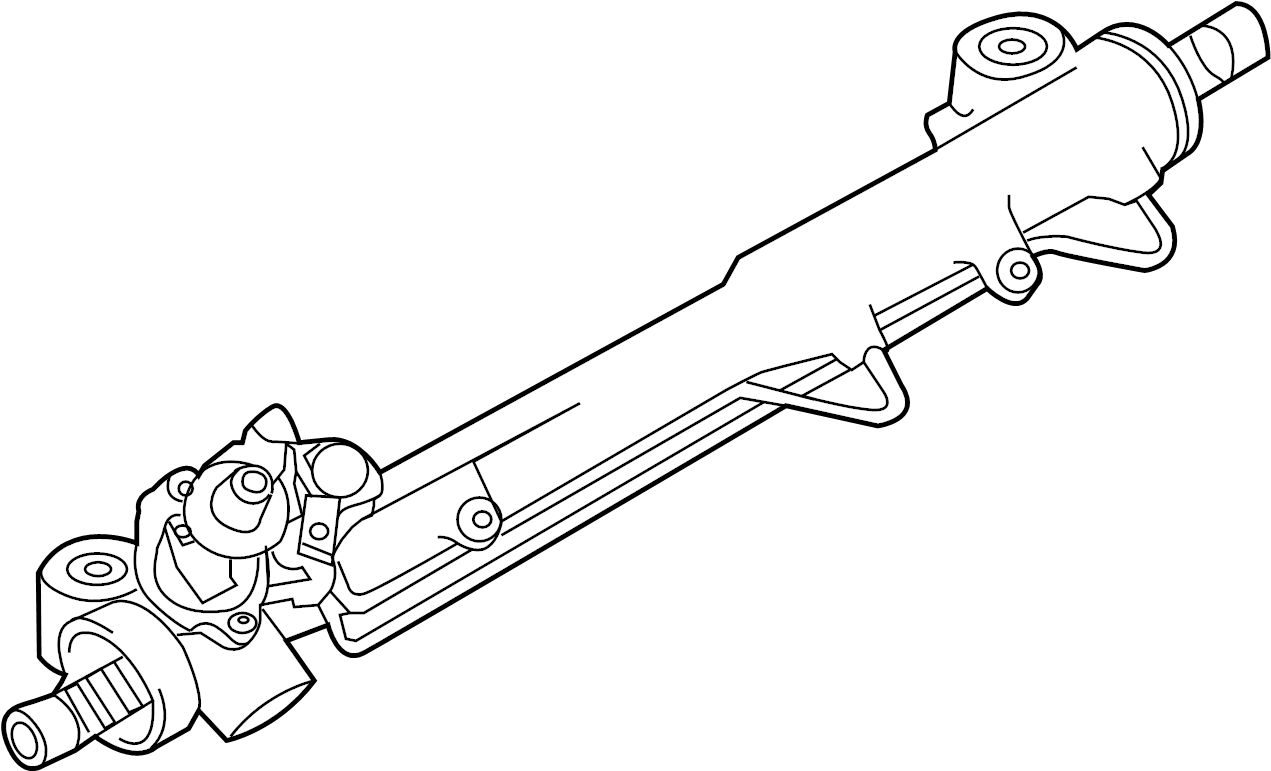 porsche panamera rack and pinion assembly  panamera  w  o servotronic  w  o servotronic  new