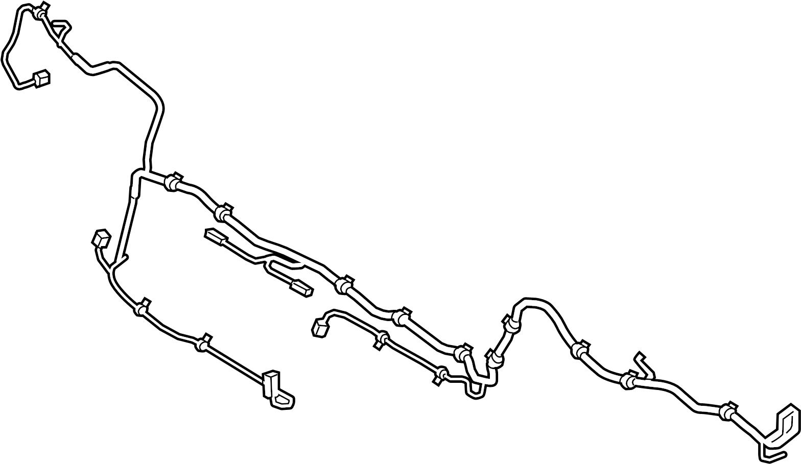 porsche panamera harness  wiring  parking aid system